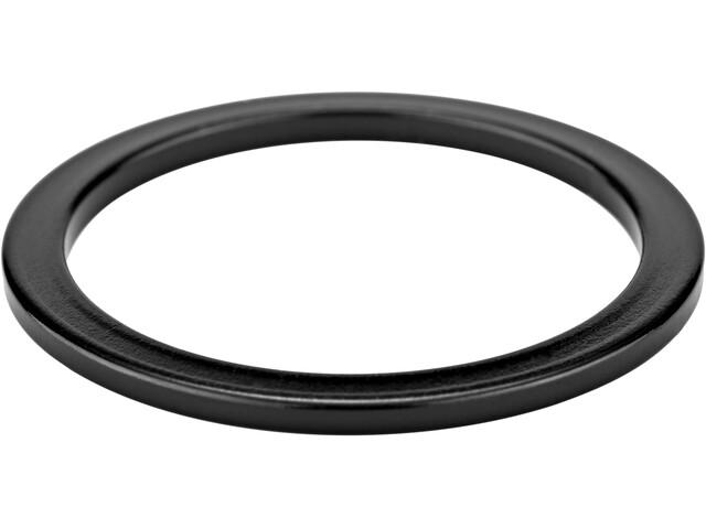 """KCNC Headset Spacer 1 1/8"""" 2mm schwarz"""